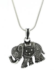 Midi Elephant Necklace - Great Gift Idea for Elephant Collectors